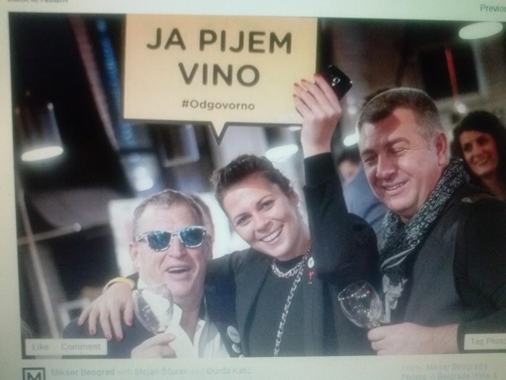 Belgrade Wine & Dine, vlasnici vinarija na dogadjaju u Mikseru.