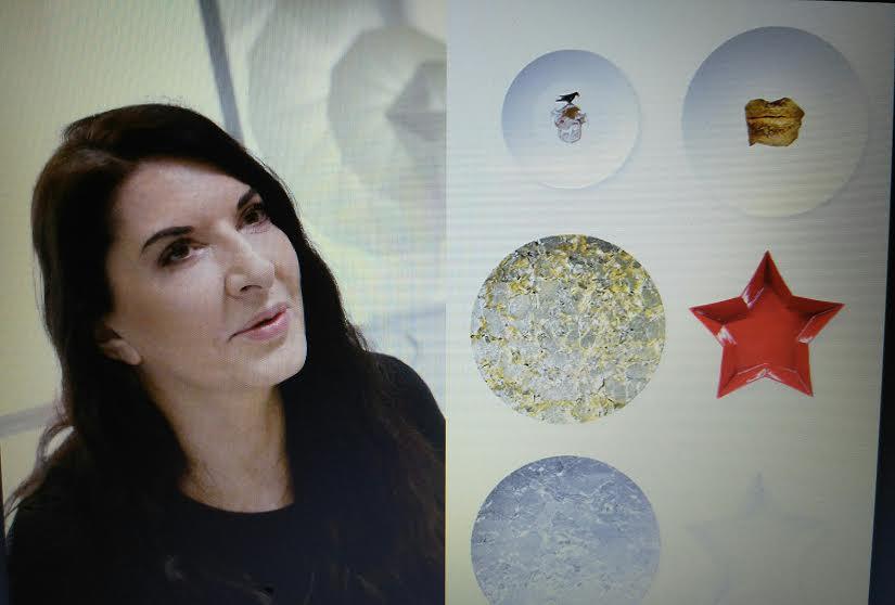 Marina Abramovic dizajn tanjira i kolaca