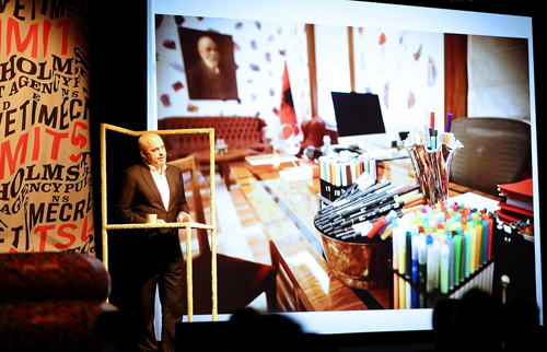 Albania-2 Edi Rama keynote lecture at the 6th annual Creative Time Summit in Stockholm,