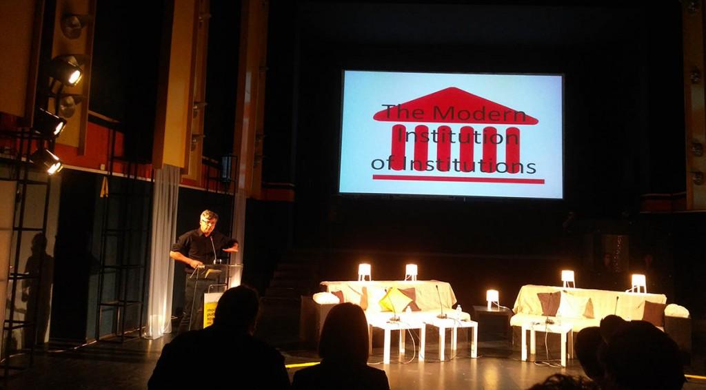 Konferencija u Skoplju koja ne afirmiše subverzivnost nego submisivnost EU, Foto: DeMaterijalizacija umetnosti, 2017.